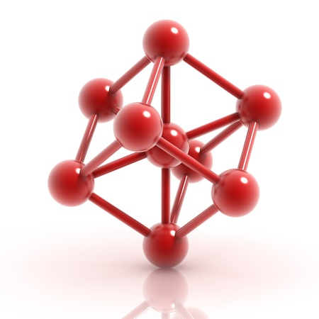 molecule 3d icon photo