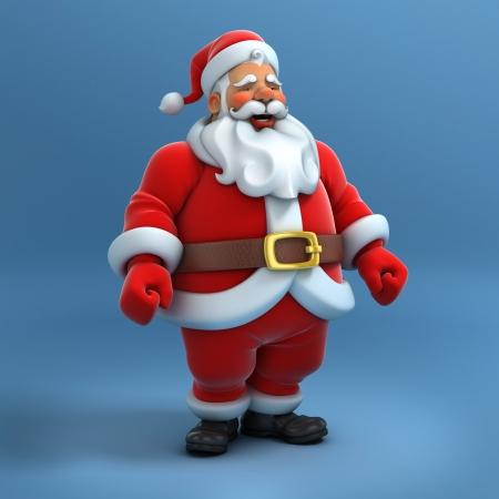 santa clause: santa claus 3d