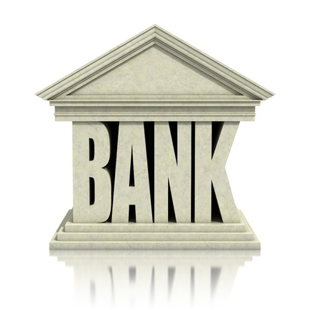bank 3d icon photo