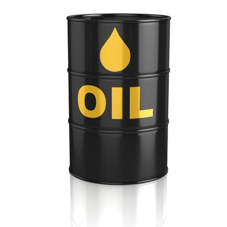 tanque de combustible: 3d icono del depósito de aceite Foto de archivo