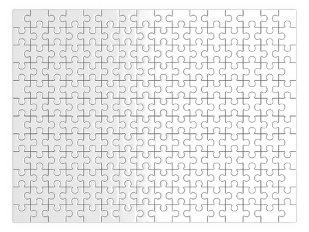 blank jigsaw photo
