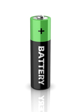 AAA battery 3d icon Stock Photo