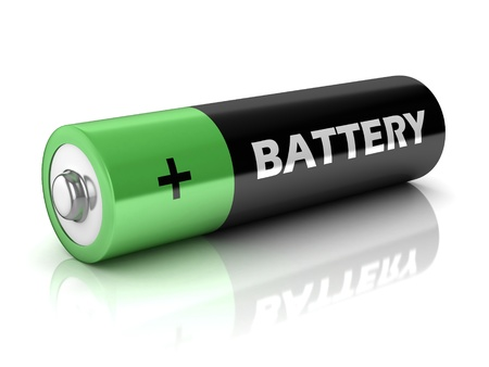 AA battery 3d icon photo