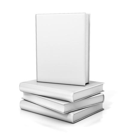 portadas de libros: libros con portadas en blanco
