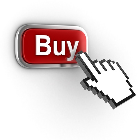 online shopping - buy now 3d icon photo