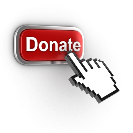 donate 3d button photo