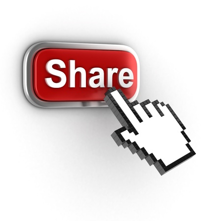 share 3d button photo
