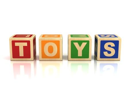 spell: toys wooden blocks