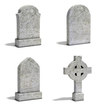 tumbas: lápida conjunto
