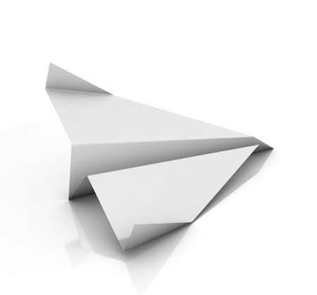 paper airplane: paper plane