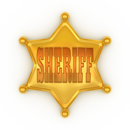 sheriff badge photo