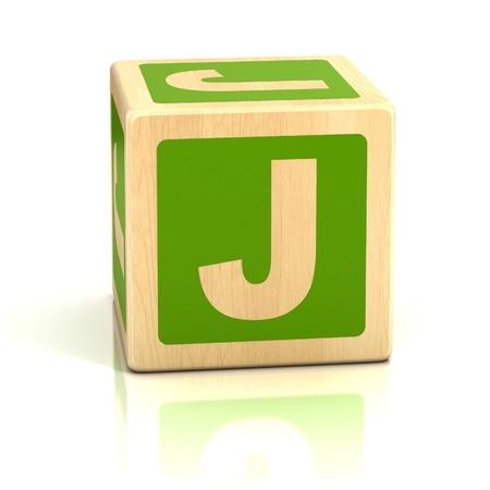j: letter j alphabet cubes font