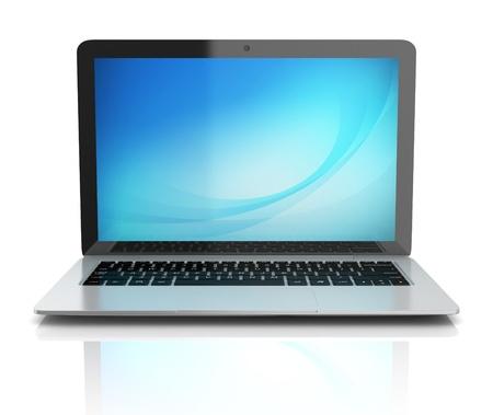 ultrabook: laptop notebook ultrabook front view