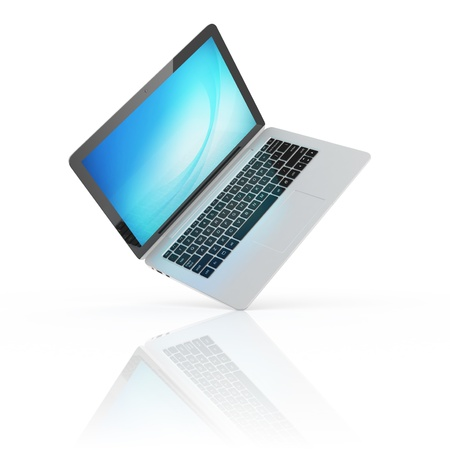 laptop notebook ultrabook isolated photo