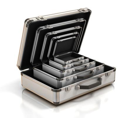 suitcase inside suitcase photo