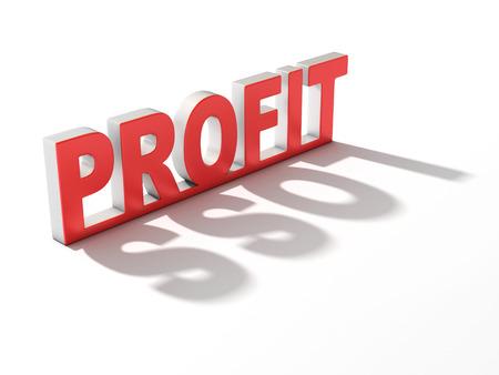 perdidas y ganancias: ganancia p�rdida 3d concepto