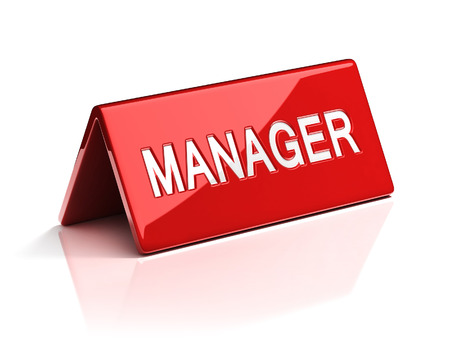 Manager identification plate