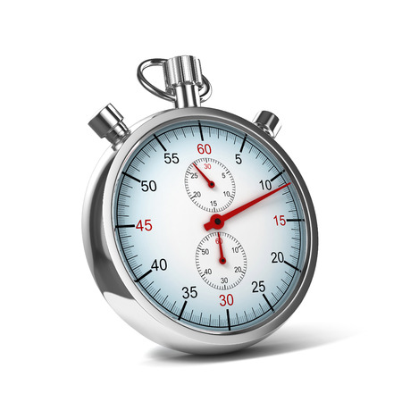stopwatch 3d illustration Stock Photo