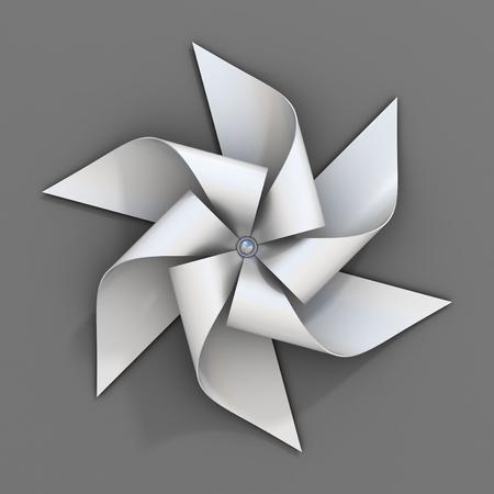 wind vane: paper windmill toy