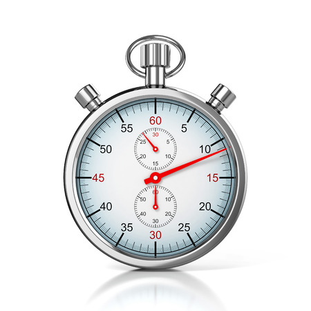 stopwatch 3d illustration 版權商用圖片