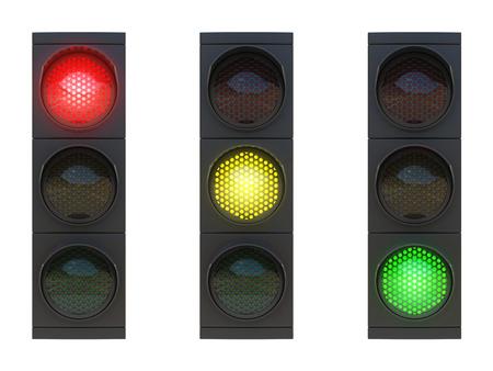 交通: トラフィック ライト 写真素材