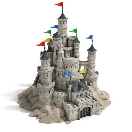 castello medievale: castello 3d