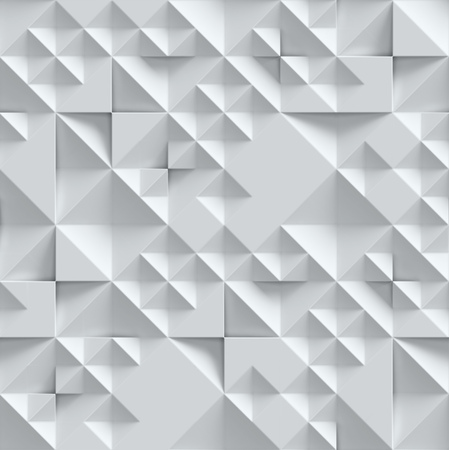 concrete wall with geometrical 3d pattern