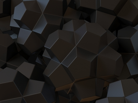 crystal background: Geometrical abstract 3d background