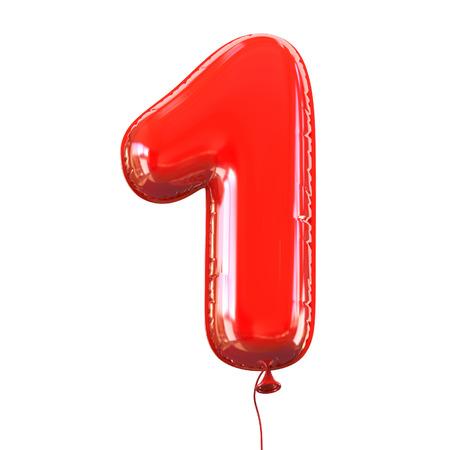 nombres: num�ro cinq - 1 police ballon