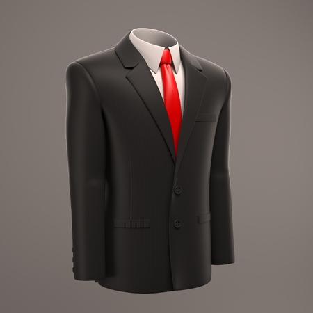 man shirt: formal suit Stock Photo