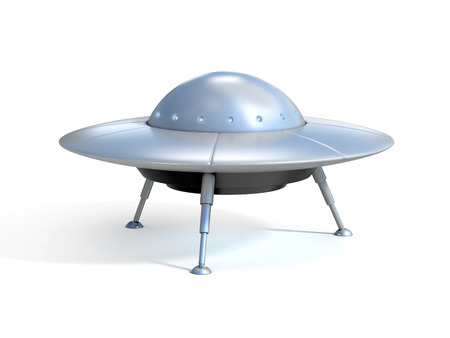 Alien spaceship - ufo Reklamní fotografie