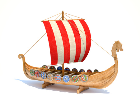 ships: Viking ship
