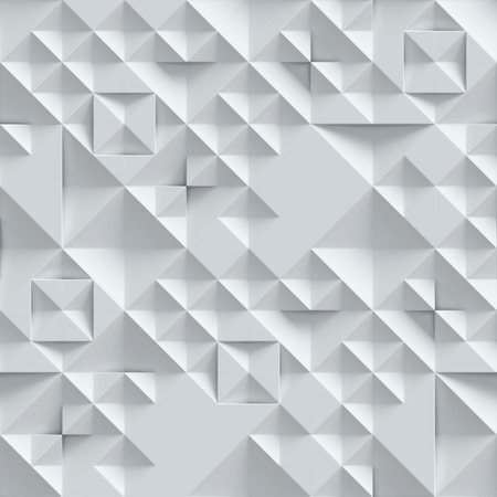 wall with geometrical 3d pattern