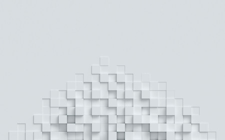 cubical abstract background 3d rendering