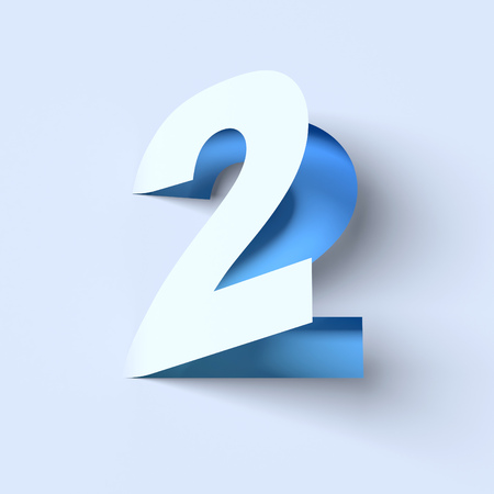 cut out paper: cut out paper font number 2