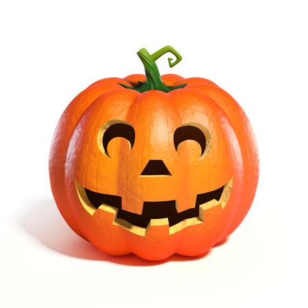 Halloween Pumpkin Jack O Lantern 3d rendering Stock fotó