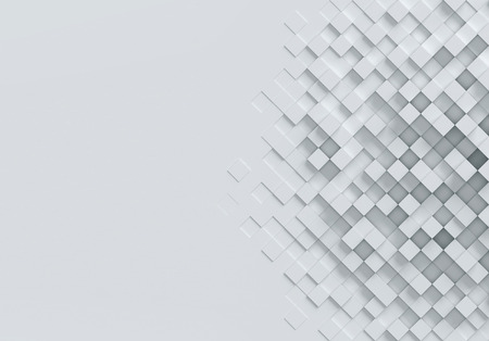 tile: Geometrical abstract 3d background