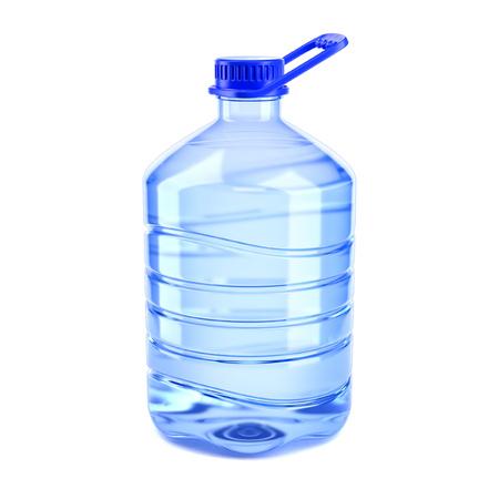 大きなボトルの水