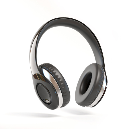 Headphones isolated 3d
