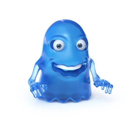 Het vreemde monster 3d teruggeven