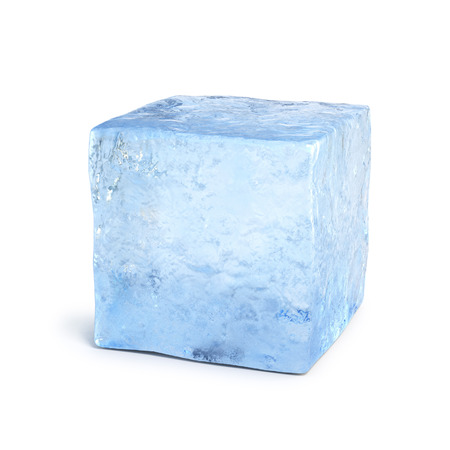 얼음 블록 3d 렌더링
