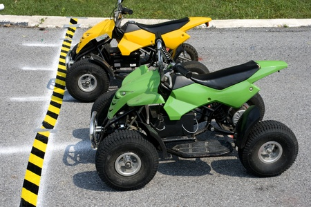 ATV this is ALL TERRAIN VEHICLES . photo