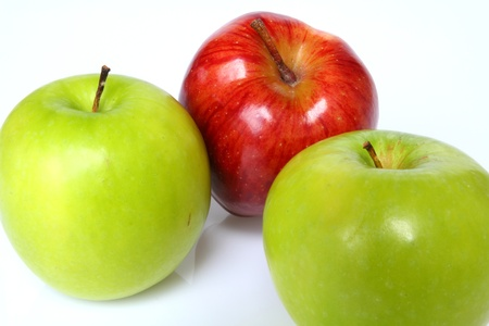 Apply green and red colur with for you to eat.