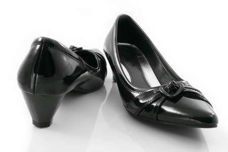 Low heels shoes for women. photo
