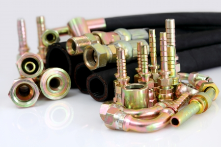 hydraulic: The hydraulic lines
