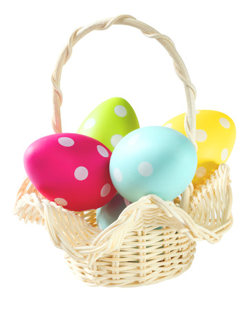 easter basket: Easter Stock Photo