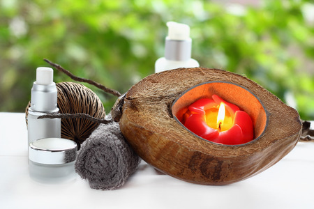 welling: Spa and massage treatment for health body. Stock Photo