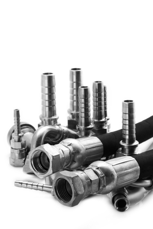 tenon: Hydraulic line  joint  oil and  Spring Steel.