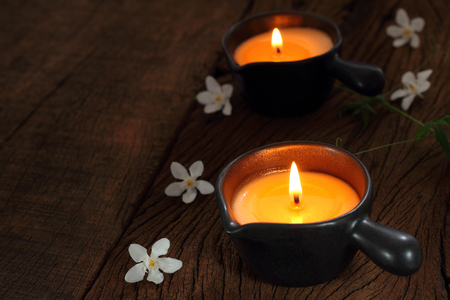 Candle massage and spa for  Relaxation.