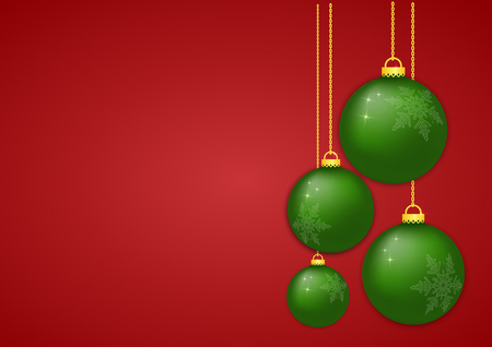 Christmas ball x-mas and happy new year for decoration design holiday. Ilustrace